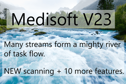 Medisoft Version 23 a Mighty River